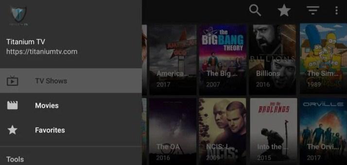 Titanium TV Apk for Android